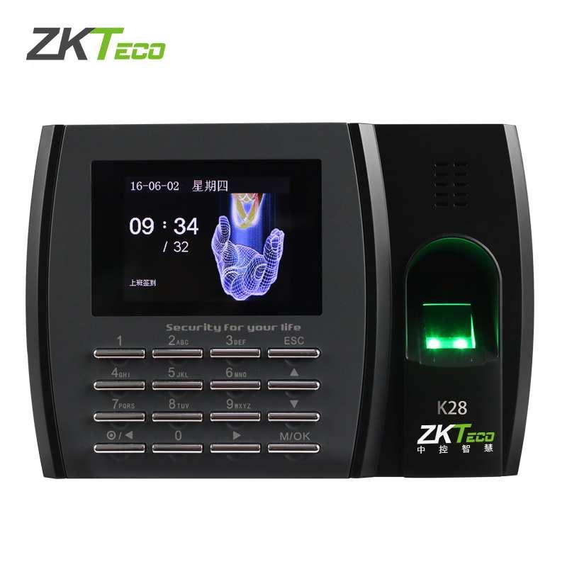 中控智慧考勤机K28 免软件安装