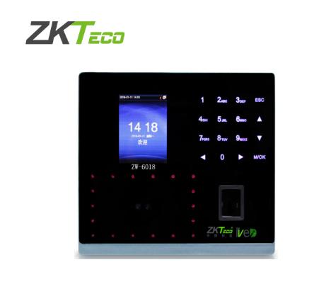 ZK-6018中控门禁人脸指纹一体机