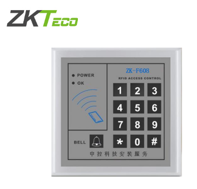中控ZK-F608密码刷卡机